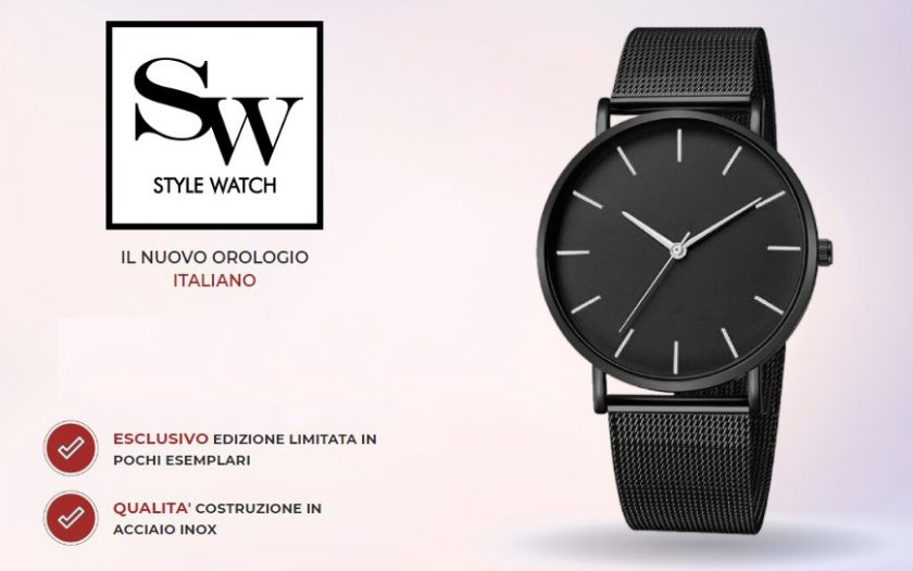 Style Watch: orologio italiano in acciaio inox! Opinioni ...