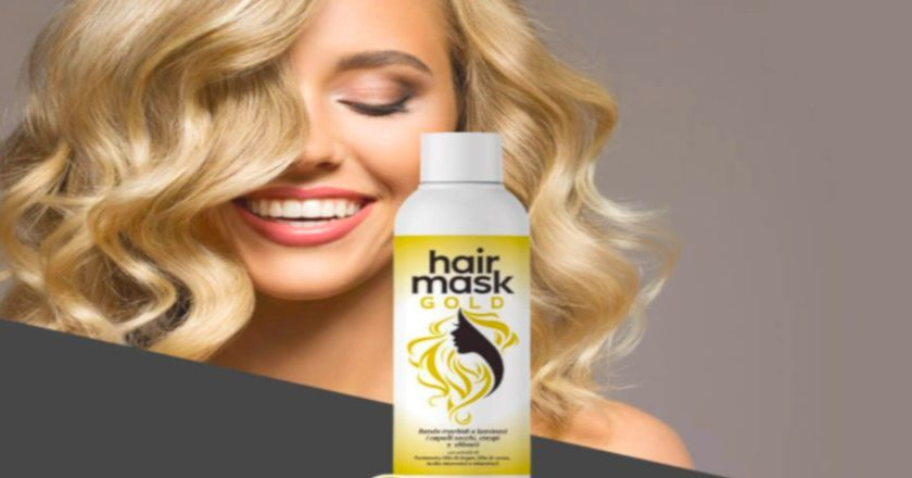 Hair Gold Mask
